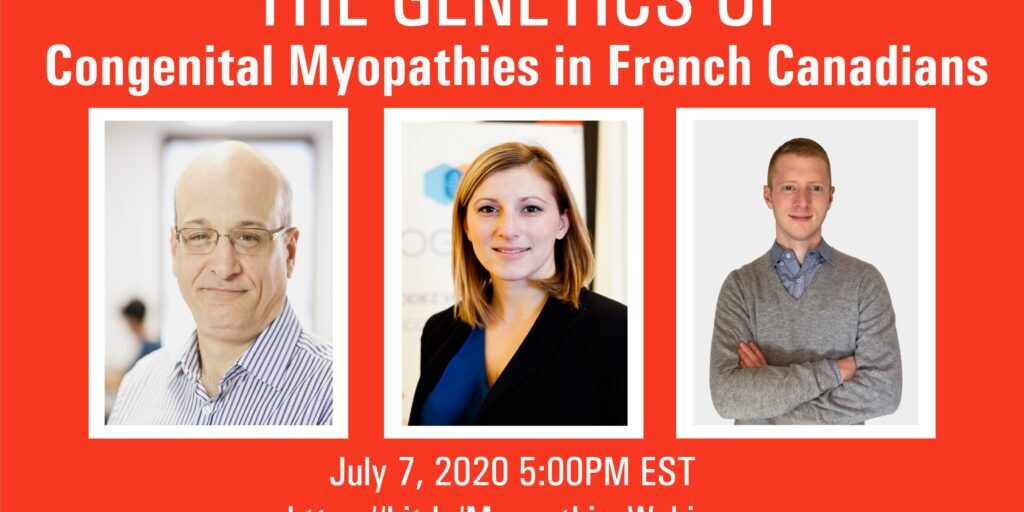 Webinars-Genetics of Myopathies